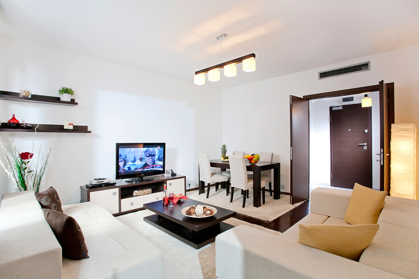 Rent A Center Living Room Set Bucharest 2 Rooms Apartment For Rent Short Term